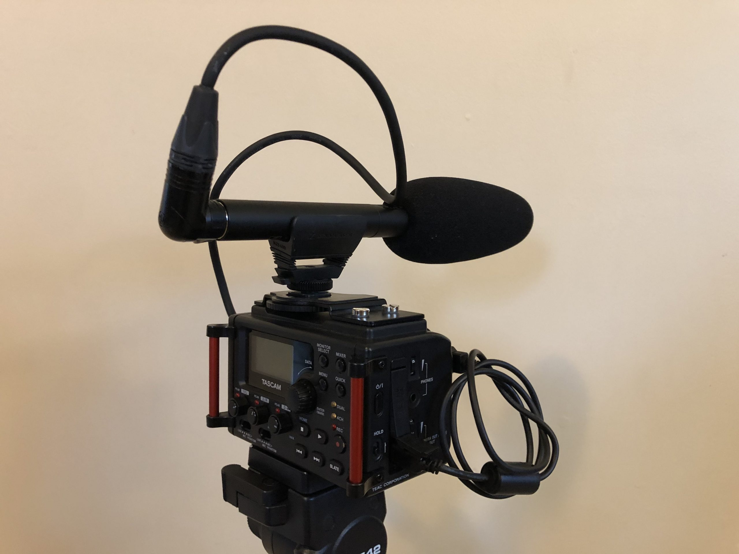 Tascam DR-60D MKII Video Audio Production Syntax