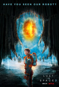 Lost in Space, a Netflix original series, follows the Swiss Family Robinson on their journey to a new colony in space.