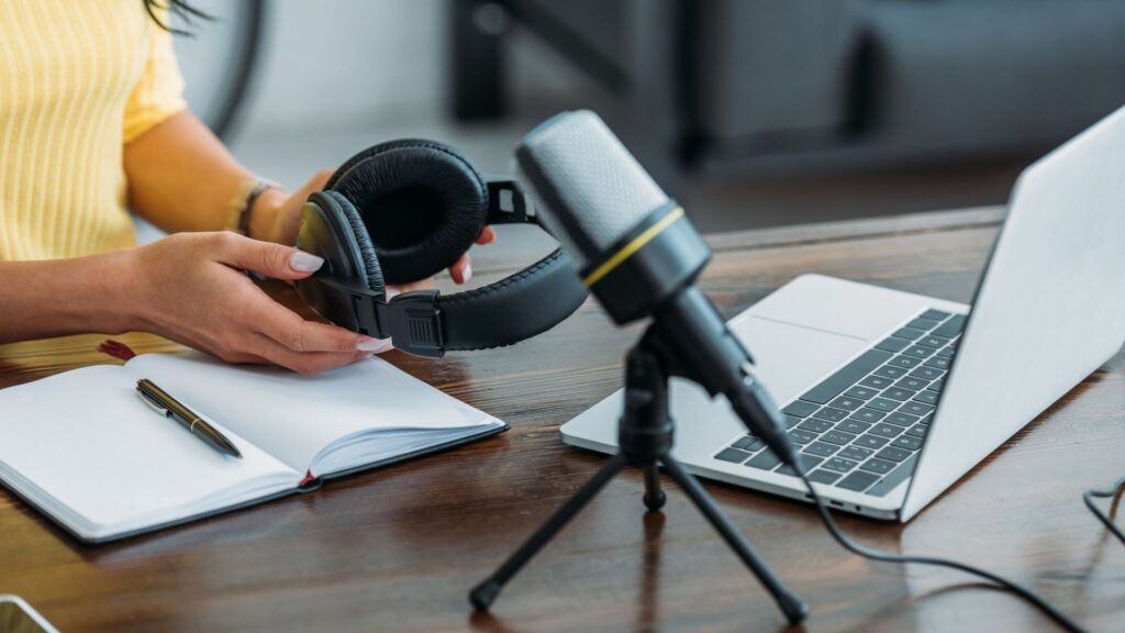 While recording, a good tip is to have a notebook