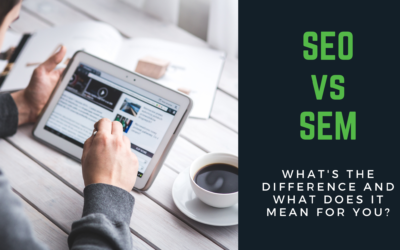 SEO vs SEM – What's the difference?